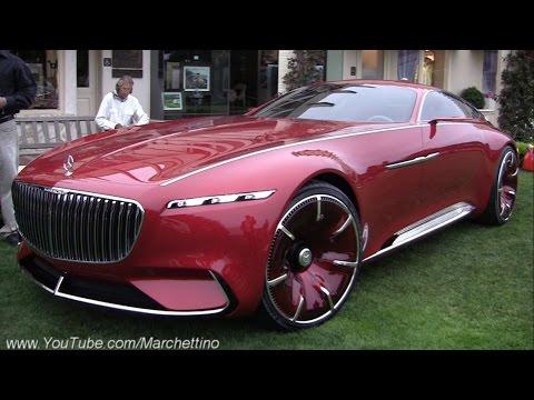 eleganza futuristica per la nuovissima mercedes-maybach 6