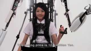 【100万回再生突破!】世界初の搭乗型パワードスーツ市販モデル「パワードジャケットMK3」
