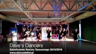 Dave's Dancers na Zakończeniu Sezonu Tanecznego Dance Atelier