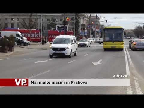 Mai multe mașini în Prahova