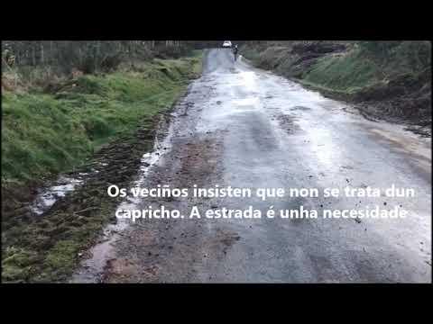 Veciños de San Salvador e Grixoa reclaman melloras na estrada un ano despois da manifestación