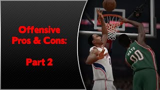 NBA 2K15 - Offensive Gameplay Pros & Cons Part 2 - Animations, Shot Meter, 3pt Shooting & More