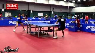 Xinzhou China  city photos gallery : 2014/15 China Trials for WTTC 53rd: XU Xin - ZHOU Yu [Full Match|Short Form/720p]