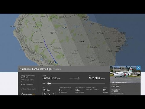 colombia: 76 vittime in disastro aereo, a bordo squadra brasiliana