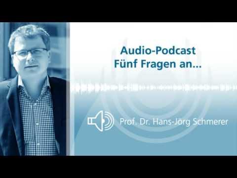 Audio-Podcast: Fünf Fragen an... Prof. Schmerer