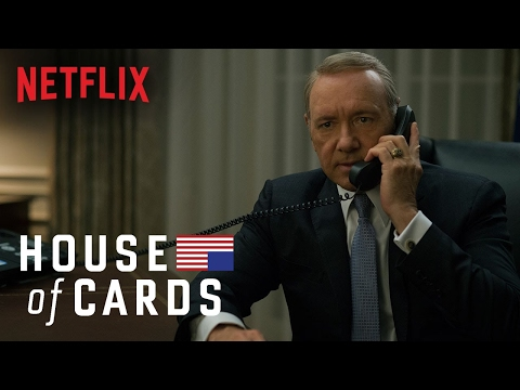 """زوجة """"فرانك أندروود"""" تستحوذ على إعلان الموسم الرابع من House of Cards"""