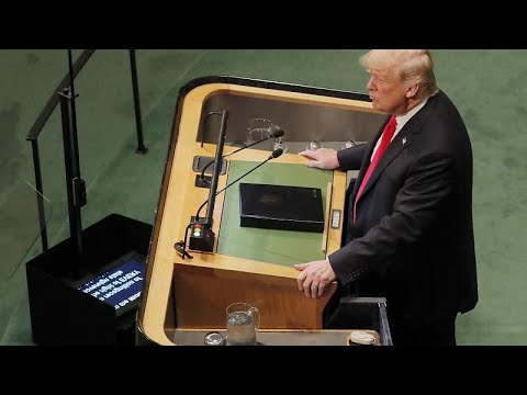 ΟΗΕ: Γέλια στην ομιλία Τραμπ