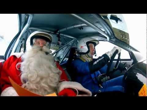 Św. Mikołaj w rajdówce? Czemu nie...