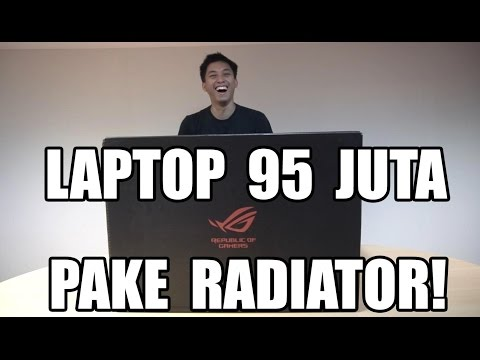 UNBOXING LAPTOP 95JUTA