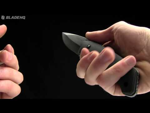 "Schrade SCHF13 Knife Modified Drop Point Fixed Blade (3.7"" Stonewash Plain)"