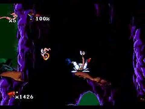 earthworm jim megadrive test