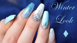 Gelnägel im WINTERLOOK | Danana - YouTube