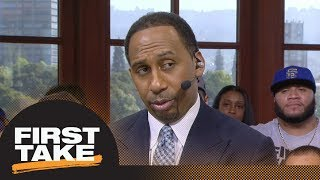 Stephen A.: Kevin Durant looked like he wanted no part of LeBron James in Game 1 | First Take | ESPN
