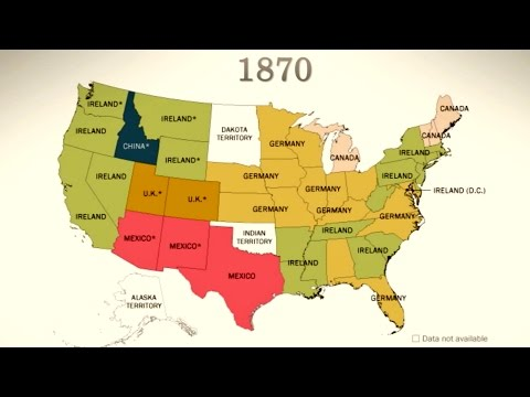 America's Sources of Immigration (1850-Today)