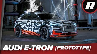 Lightning strikes the Audi E-Tron prototype in Germany by Roadshow