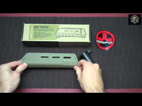 mustyyeti - Well the Magpul MOE Forend finally arrived. This video is very short, it's a quick unboxing and brief description of the part. The MOE Forend gives you sever...
