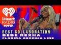 Florida Georgia Line and Bebe Rexha Win The Best Collaboration Award | 2018 iHeartRadio MMVA