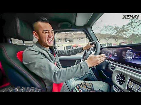 Mercedes G63 AMG giá 12 tỷ chạy 80km/h về số P.  VỠ HỘP SỐ? - Thời lượng: 12 phút.