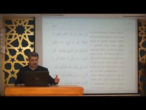Tuncer Namlı - Zuhruf Suresi (36-56) Ayetlerin Tefsiri