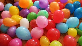 """The Balloon Show"" for learning colors -- children's educational video"