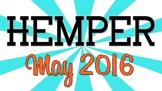 HEMPER UNBOXING!! - (May 2016) by Strain Central