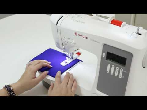 SINGER® CONFIDENCE™ 7640 Sewing Machine - Buttonholes