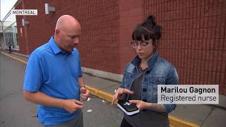 Naloxone counteracts the effects of opioids like Fentanyl and Oxycodone. CBC Montreal reporter Derek Marinos gets a look at the kid. To read more: http://cbc.ca/1.4247538How to use a Naloxone opioid overdose kit: http://www.cbc.ca/1.3847062»»» Subscribe to CBC News to watch more videos: http://bit.ly/1RreYWSConnect with CBC News Online:For breaking news, video, audio and in-depth coverage: http://bit.ly/1Z0m6iXFind CBC News on Facebook: http://bit.ly/1WjG36mFollow CBC News on Twitter: http://bit.ly/1sA5P9HFor breaking news on Twitter: http://bit.ly/1WjDyksFollow CBC News on Instagram: http://bit.ly/1Z0iE7ODownload the CBC News app for iOS: http://apple.co/25mpsUzDownload the CBC News app for Android: http://bit.ly/1XxuozZ»»»»»»»»»»»»»»»»»»For more than 75 years, CBC News has been the source Canadians turn to, to keep them informed about their communities, their country and their world. Through regional and national programming on multiple platforms, including CBC Television, CBC News Network, CBC Radio, CBCNews.ca, mobile and on-demand, CBC News and its internationally recognized team of award-winning journalists deliver the breaking stories, the issues, the analyses and the personalities that matter to Canadians.