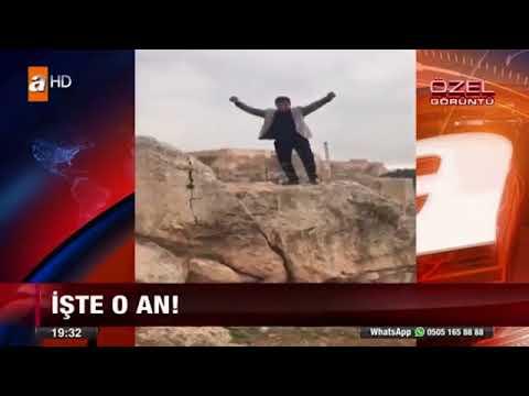 فيديو.. أراد الاحتفال بعيد ميلاده فسقط جثة هامدة من فوق قلعة