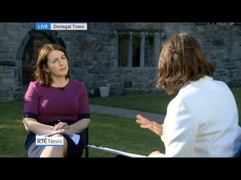 Niamh UíBhriain from Save the 8th Live on Six One News urging a NO VOTE