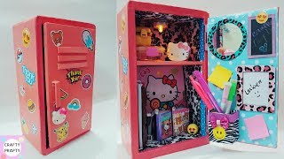 Download Lagu DIY Locker Organizer/DIY Desk Organizer/ Thank you 50k subscriber/DIY Locker With Cardboard/shoe box Mp3