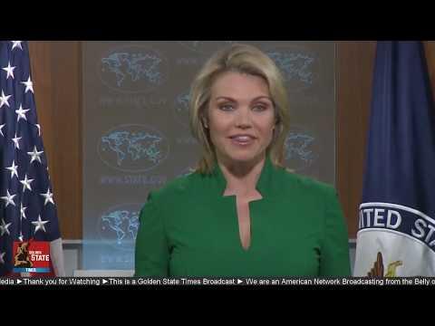 WATCH: US State Department Press Briefing with Heather Nauert Regarding North Korea threat