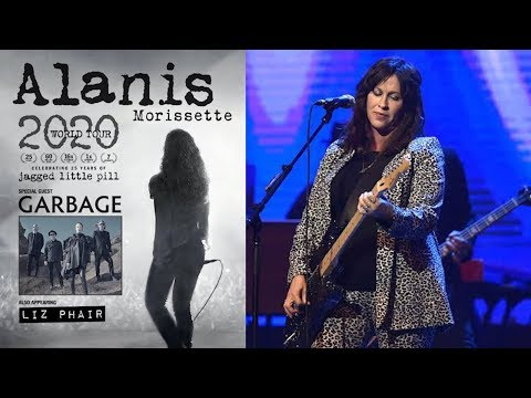 Alanis Morissette announces 2020 'Jagged Little Pill' anniversary tour