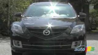 2009 Mazda 6 GT-V6 Review By Auto123.com