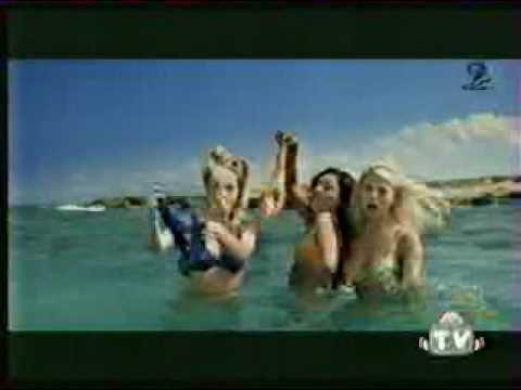 Banned Commercials 3 girls take off bikinis