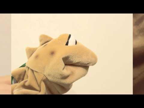 Handpuppen unter der Lupe - Quaselmonster Oleg von Living Puppets