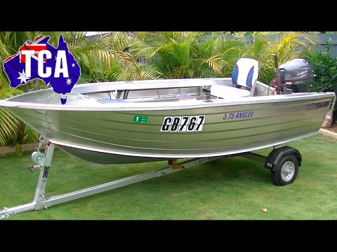 Sea Jay 3.75 Angler Dinghy Part 1