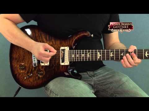 Custom (musician) - Filmed at Musician's Friend Private Reserve Guitars in September 2014. For more information: http://www.musiciansfriend.com/guitars/prs-custom-22-flame-top-s...