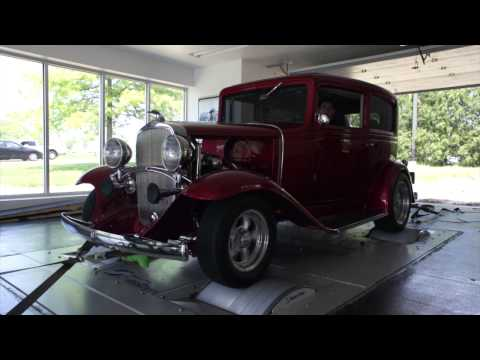 1932 Chevy takes its turn on the dyno