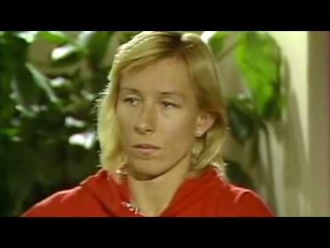 Martina Navratilova On Ugly Accusations And Her Game!