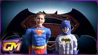 Video Superman Vs Batman: Kids Parody of John Newman's Love Me Again MP3, 3GP, MP4, WEBM, AVI, FLV Januari 2018