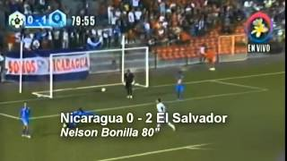Goles amistoso Nicaragua 0 - 2 El Salvador