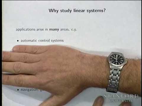 Vorlesung 1 | Einführung in lineare dynamische Systeme