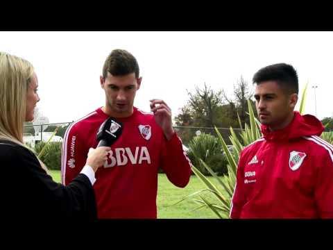 Lucas Alario y Pity Martínez, goleadores ante Boca