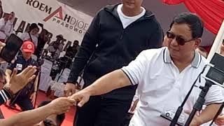 Video Prabowo dan Mbak Titik Nyanyi di Jalan Sehat Roemah Djoeang MP3, 3GP, MP4, WEBM, AVI, FLV Juni 2019