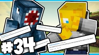 Minecraft - TIME TRAVELLERS! - READING YOUR COMMENTS!! #34 W/Stampy & Ash!
