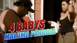 Maluma - Cuatro Babys (PARODIA/Parody) (Official Video) ft. Noriel, Bryant Myers, Juhn por JR INN