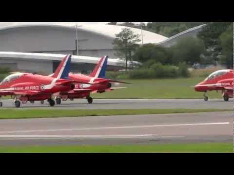 2012 Farnborough International Airshow: Red Arrows
