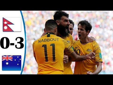 NEPAL VS AUSTRALIA | WORLD CUP 2022 QUALIFIERS |JUNE 12, 2021| FOOTBALL HIGHLIGHTS | 3-0 | ENGLISH