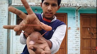 This is a very cool magic trick with rubber bendI learn This trick From EvenEra Tv This is a magic learning chanelFollw me on Instagram https://www.instagram.com/smarty1328/?hl=enFollow Us on Facebook https://m.facebook.com/Smarty.nikhil.525/follow on twitter Check out Nikhil Sharma (@NikhilS96441225): https://twitter.com/NikhilS96441225?s=01
