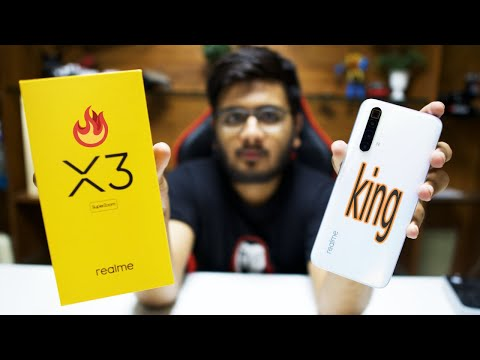 realme X3 Superzoom Unboxing | The realme Flagship!